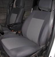 Prestige LUX Чехлы на сиденья Renault Kangoo 1997-2008 (цельный диван и спинка)