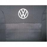 Чехлы на сиденья VW Polo Sedan (делённый салон)