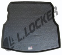 L.Locker Коврик в багажник Nissan Almera IV (12-)