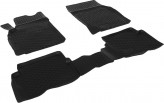 L.Locker Глубокие резиновые коврики в салон Nissan Almera classic