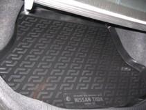 L.Locker Коврик в багажник Nissan Tiida sedan 2004-2014