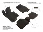 Prestige LUX Ворсистые коврики FIAT PANDA 2013-