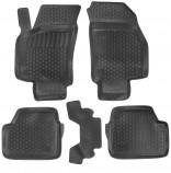 L.Locker Глубокие резиновые коврики в салон Opel Astra G Classic