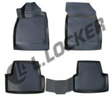 L.Locker Глубокие резиновые коврики в салон Opel Astra J GTC