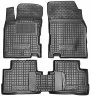 Резиновые коврики Nissan Qashqai 2014-