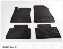 Резиновые коврики Nissan Juke 10-