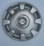 Колпаки Nissan 206 R14 (Комплект 4 шт.) SKS (с эмблемой)