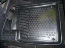 L.Locker Глубокие резиновые коврики в салон Peugeot 407