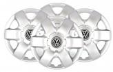 Колпаки VW 215 R14 (Комплект 4 шт.) SKS (с эмблемой)