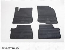 Резиновые коврики Peugeot 208 2008 12-