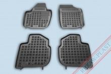 Резиновые коврики глубокие Skoda Rapid 2012-