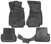 L.Locker Глубокие резиновые коврики в салон Audi A6 (C7) 2014-
