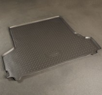 Резиновый коврик в багажник Toyota Land Cruiser 76 Unidec