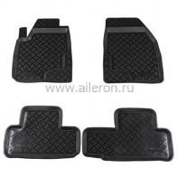 Резиновые глубокие коврики Lexus RX 2003-2009 Aileron