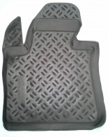 Резиновые глубокие коврики Kia Sorento 2013- Aileron