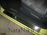Nataniko Накладки на пороги Citroen C2 3D