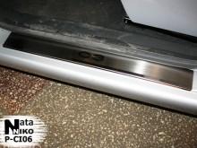 Nataniko Накладки на пороги Citroen C3 2001-2009 (PREMIUM)