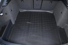Резиновый коврик в багажник Skoda A7 liftback 2013-