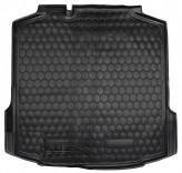 AvtoGumm Резиновый коврик в багажник Skoda Rapid liftback