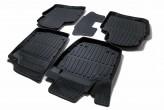 Глубокие резиновые коврики Skoda Rapid Seat Toledo 2012-
