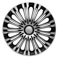 4Racing Колпаки Volante silver-black R17 (Комплект 4 шт.)