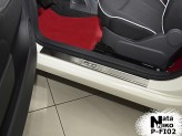 Nataniko Накладки на пороги Fiat 500 (Premium)
