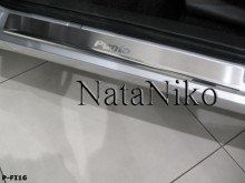 Nataniko Накладки на пороги Fiat Punto Evo Grande Punto 5D (Premium)
