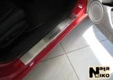 Nataniko Накладки на пороги Honda Accord 2003-2008 (Premium)