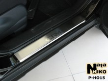 Nataniko Накладки на пороги Honda CR-V 2002-2006 (Premium)