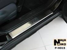 Nataniko Накладки на пороги Honda CR-V 2006-2012 (Premium)