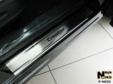 Nataniko Накладки на пороги Honda Crosstour (Premium)