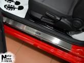 Nataniko Накладки на пороги Volkswagen Beetle 2011- (Premium)