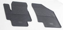 Резиновые коврики Hyundai Accent 06-10 Kia Rio II 05-11 (клетка)