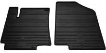 Резиновые коврики Hyundai Accent / Kia Rio 2010-2017 (передние)