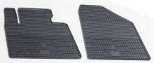 Резиновые коврики Hyundai Santa Fe 2012-2018 (передние)