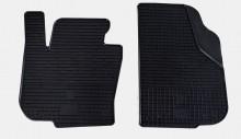 Резиновые коврики Skoda Superb 08-13- ПЕРЕДНИИ Stingray