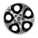 J-TEC (Jacky) Колпаки Enfinitiy silver-black R14 (Комплект 4 шт.)