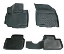 Глубокие резиновые коврики в салон Suzuki SX4 2006-2013