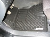 Глубокие резиновые коврики в салон Tоyota Avensis (02-08) L.Locker