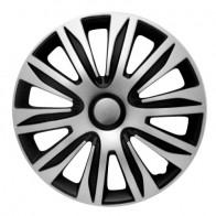 Колпаки Nardo silver-black R15 (Комплект 4 шт.) 4Racing