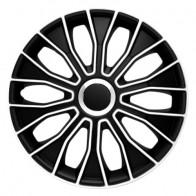 Колпаки Voltec black-white R15 (Комплект 4 шт.) 4Racing