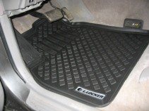 L.Locker Глубокие резиновые коврики в салон Toyota Land Cruiser 100 (98-) Lexus LX 470