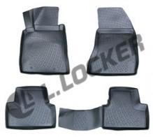 L.Locker Глубокие резиновые коврики в салон Alfa Romeo 159