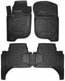 Резиновые коврики Mitsubishi L200 2006-2013