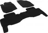 L.Locker Глубокие резиновые коврики в салон Toyota RAV4 2006-2012