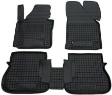 Резиновые коврики Volkswagen Caddy 2004-2015- (4 двери)