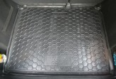 Резиновый коврик в багажник Citroen C-4 2010- HB