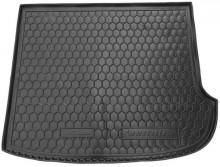 AvtoGumm Резиновый коврик в багажник HYUNDAI Santa-Fe 2006-2012 (7 мест) сложенный третий ряд
