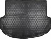 AvtoGumm Резиновый коврик в багажник HYUNDAI Santa-Fe короткая база 2012-2018 (5 мест)