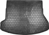 AvtoGumm Резиновый коврик в багажник HYUNDAI і-30 2012 универсал